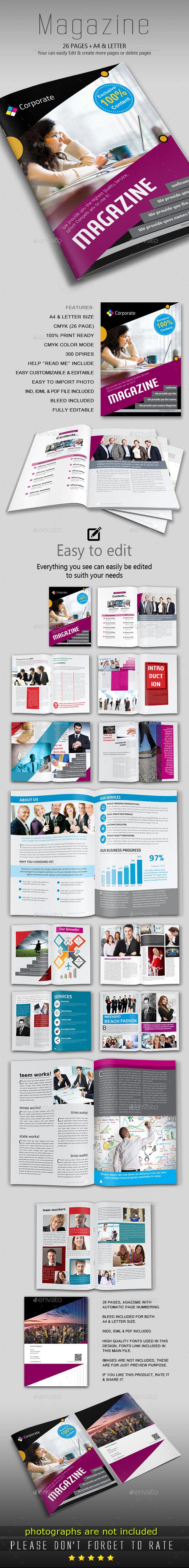GraphicRiver Multipurpose Magazine Template 9596863