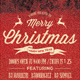 Merry Christmas Party Flyer PSD Templates - GraphicRiver Item for Sale