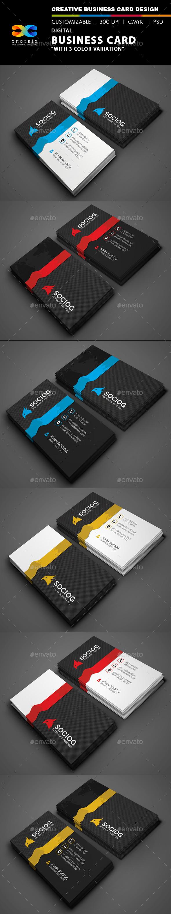 GraphicRiver Digital Business Card 9597021