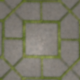 Concrete Tiles with Grass - 3DOcean Item for Sale