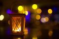 Outdoor lantern with dim light - PhotoDune Item for Sale