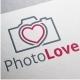 Photo Love Logo - GraphicRiver Item for Sale
