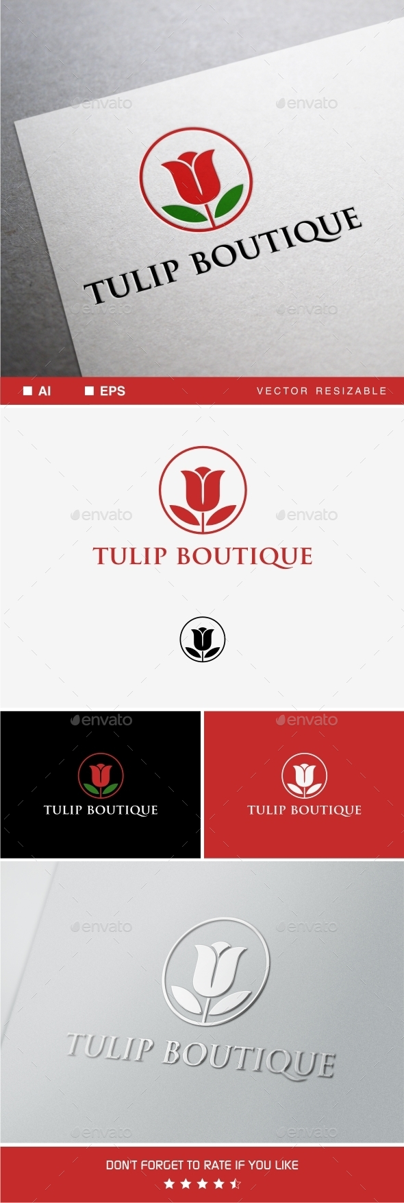 GraphicRiver Tulip Boutique 9597665