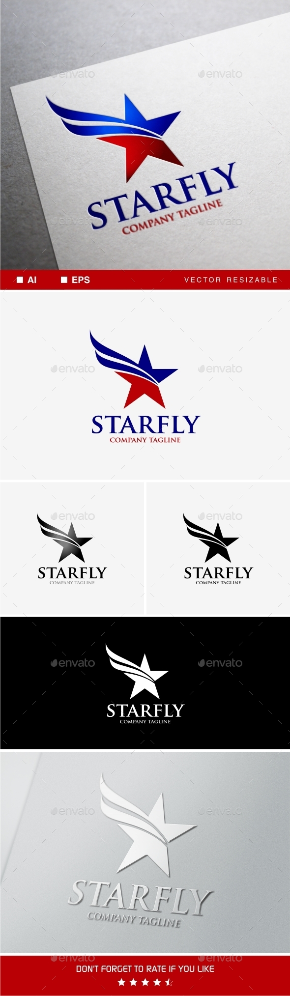 GraphicRiver Starfly 9597696