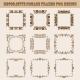 Set of Square Frames for Design - GraphicRiver Item for Sale