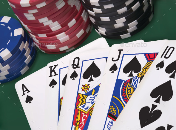 what is a flush in poker images with skulls
