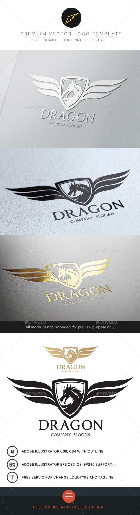 GraphicRiver Dragon 9597945