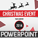 Christmas Event PowerPoint Template - GraphicRiver Item for Sale