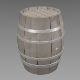 Wood barrel - 3DOcean Item for Sale