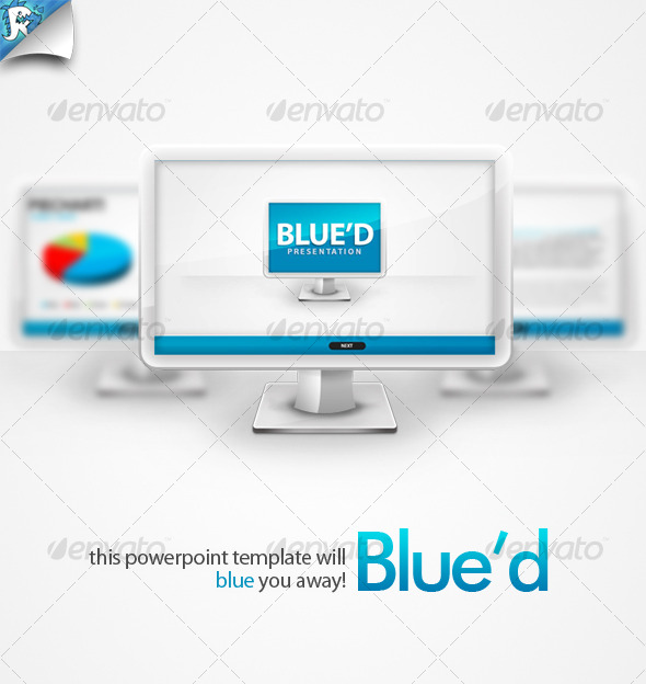 Blue'd Presentation - Blue you away - Powerpoint Templates Presentation Templates