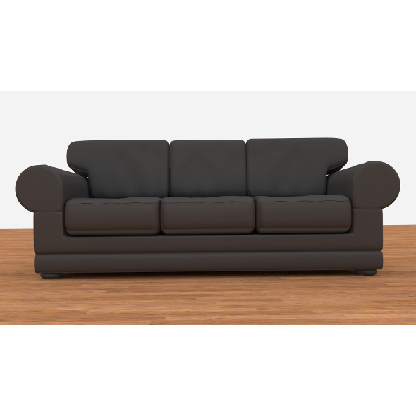 3DOcean Leather couch 9598525