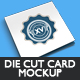 Die Cut Card Mockup - GraphicRiver Item for Sale