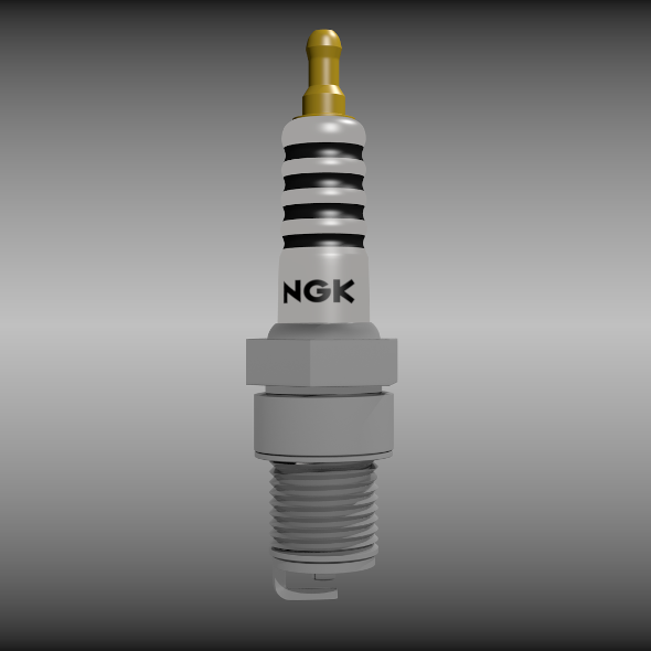 Spark plug - 3DOcean Item for Sale