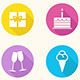 Birthday Icons - Vector