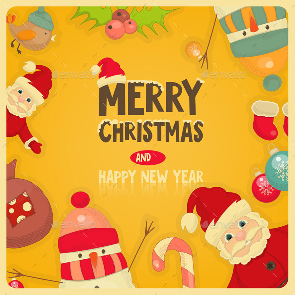 GraphicRiver Christmas Card 9598681