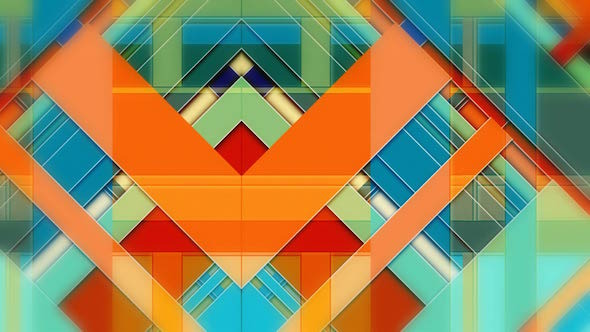 VideoHive Abstract Bars 9598684