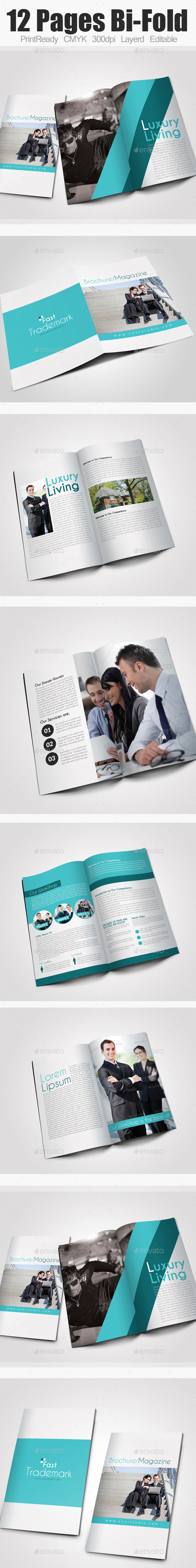 GraphicRiver Bi Fold Business Brochure 9598806