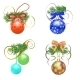 Set of Christmas Decorations - GraphicRiver Item for Sale