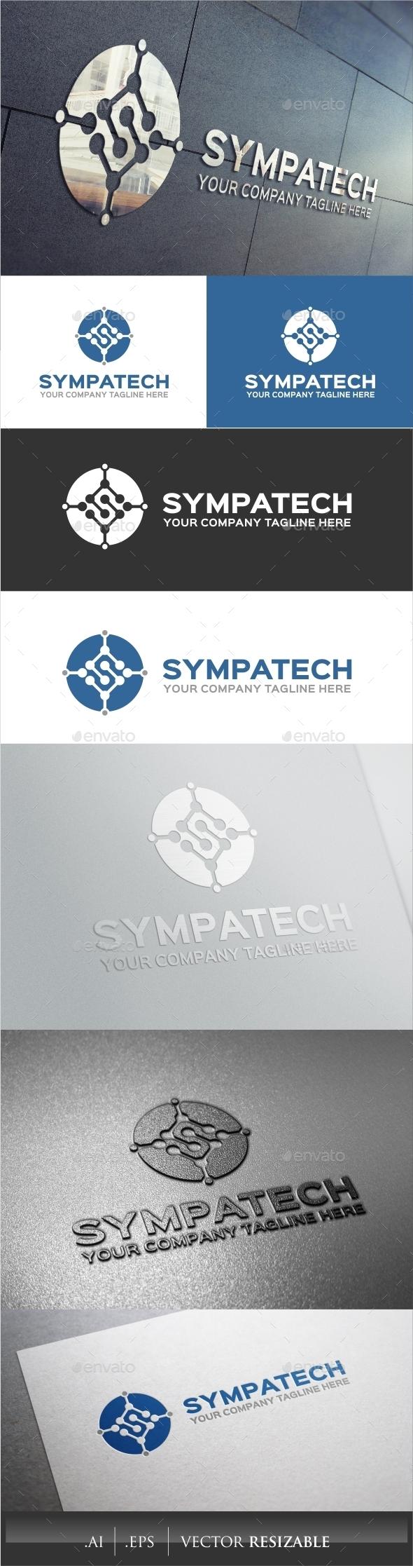 GraphicRiver S Letter Logo 9598861