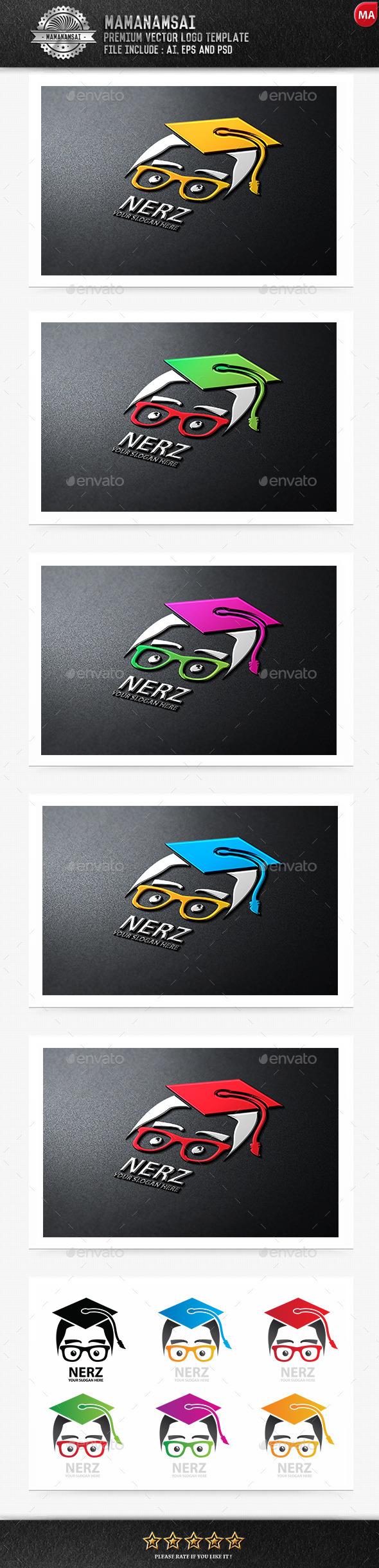 GraphicRiver Nerz Logo 9599082