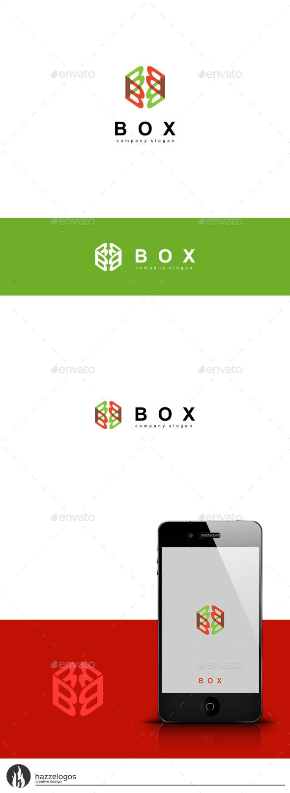 GraphicRiver Box Logo 9599220
