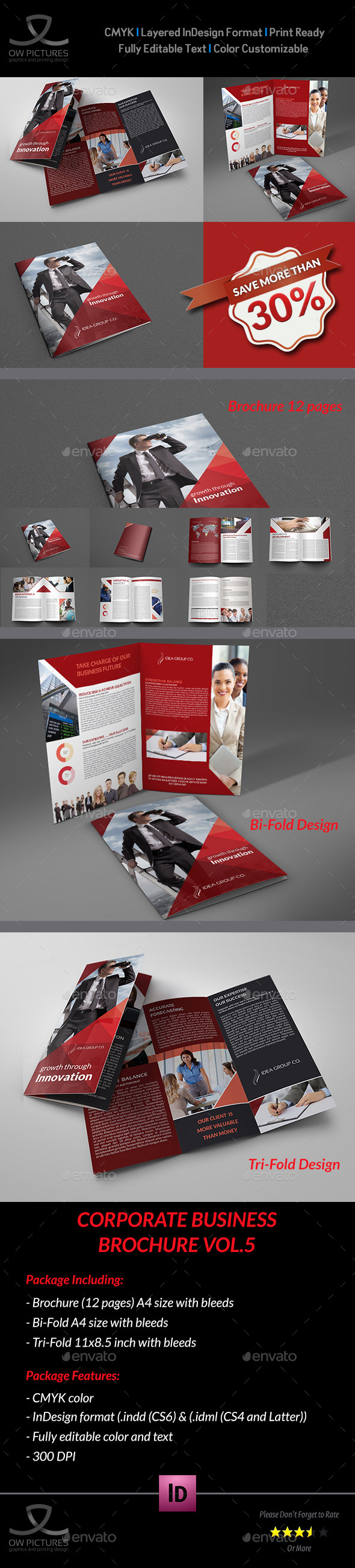 GraphicRiver Company Brochure Bundle Vol.5 9599370