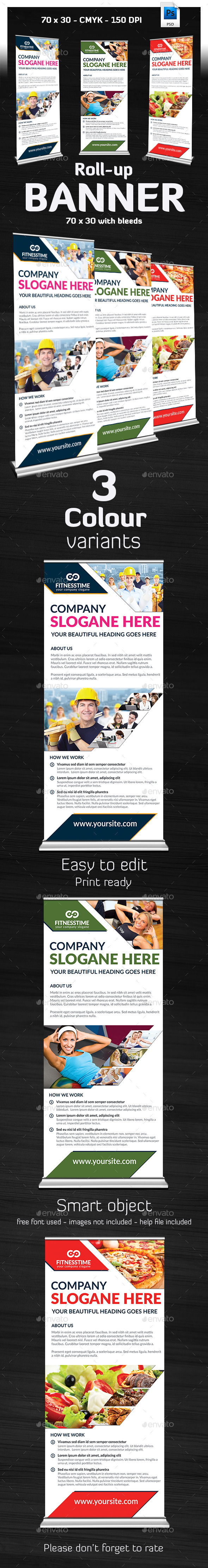GraphicRiver Beyan Multipurpose Roll Up Banner 9599374