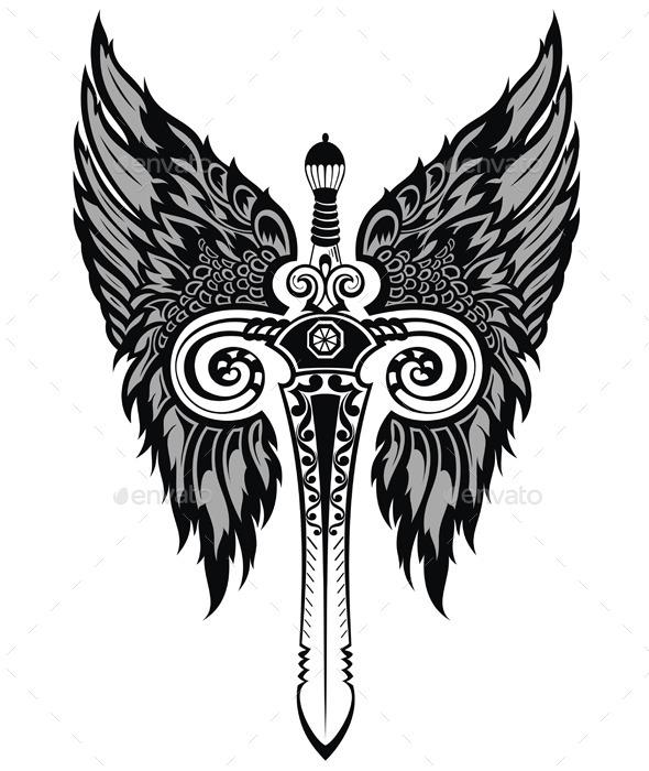 GraphicRiver Sword 9599386