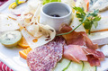 close up of tasty cold meats - PhotoDune Item for Sale