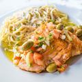 tasty pasta with salmon - PhotoDune Item for Sale