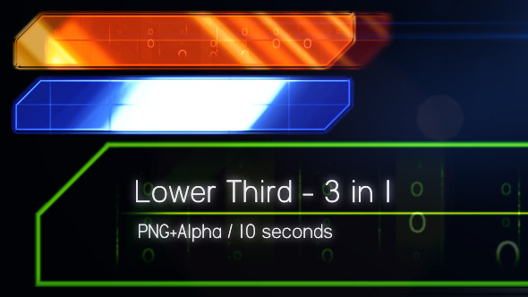Digital Lower Thirds