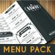 Retro Food Menu Pack - GraphicRiver Item for Sale