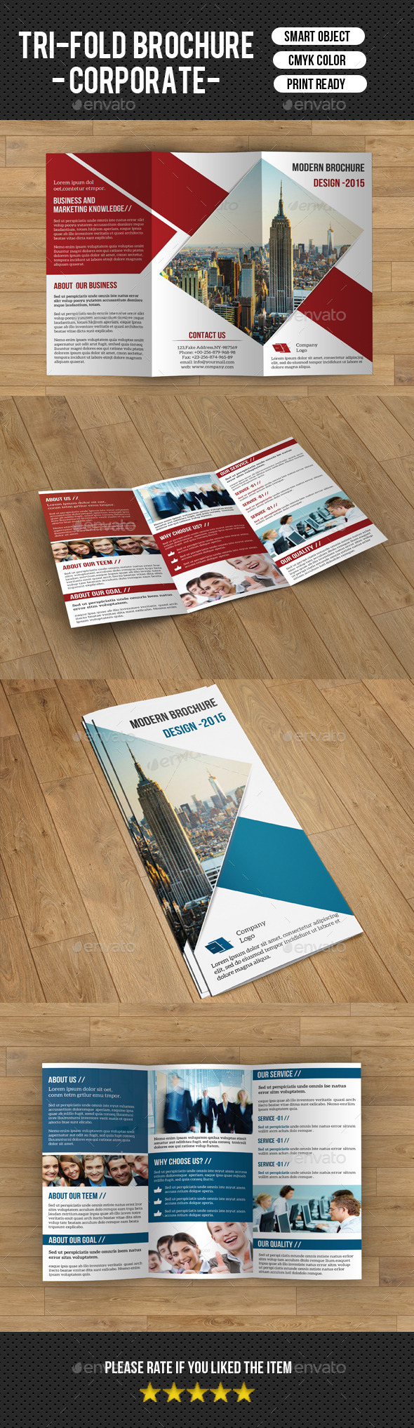GraphicRiver Trifold Business Brochure-V192 9599994