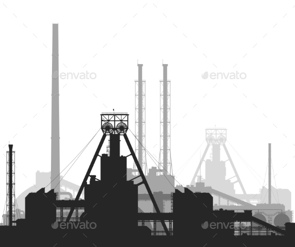 GraphicRiver Mineral Fertilizers Plant 9599996