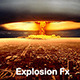 Explosion with Debris Fx 10