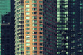 Apartment building closeup in Manhattan Downtown. - PhotoDune Item for Sale