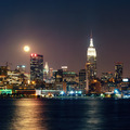Moon Rise Manhattan - PhotoDune Item for Sale