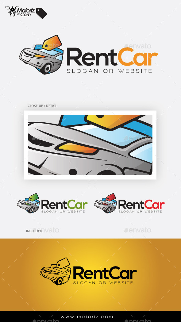 Rent Car Logo Template