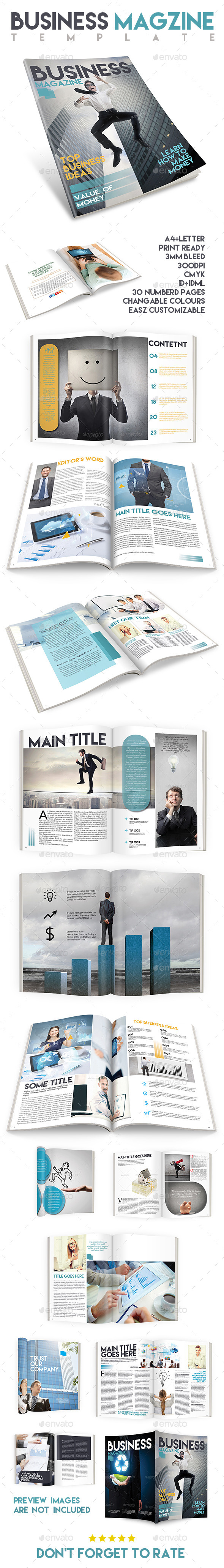 GraphicRiver Business Magazine Template Issue Two 9600851