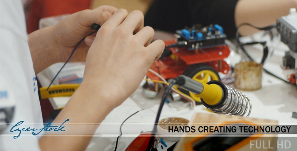 Hands Creating Technology
