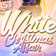 White Christmas Affair Flyer Template