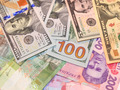 American dollars and grivnas bank notes - PhotoDune Item for Sale