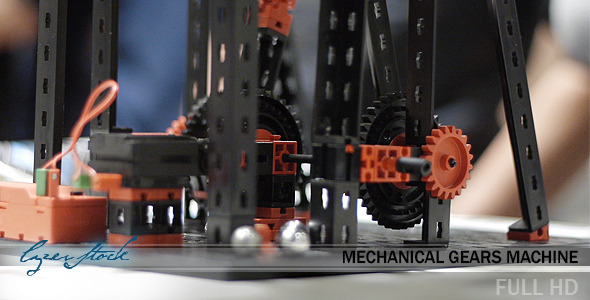 Mechanical Gears Machine 2