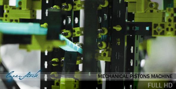 Mechanical Pistons Machine