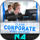 Clean Corporate Video Display - VideoHive Item for Sale