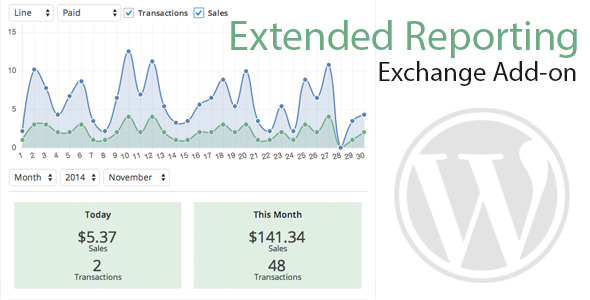 CodeCanyon Exchange Extended Reporting 9601393
