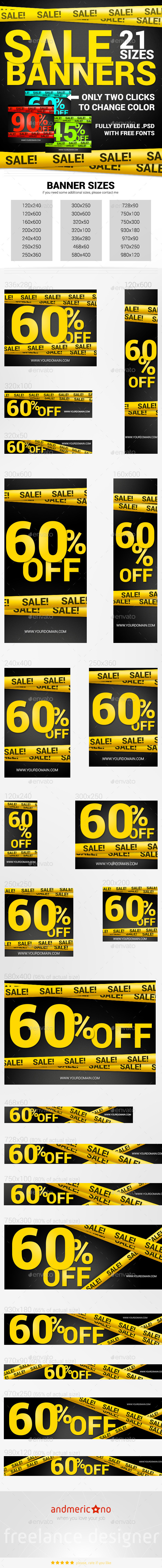 GraphicRiver Big Sale Banners 9601407