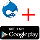 Drupal Google PlayStore Badge Shortcode