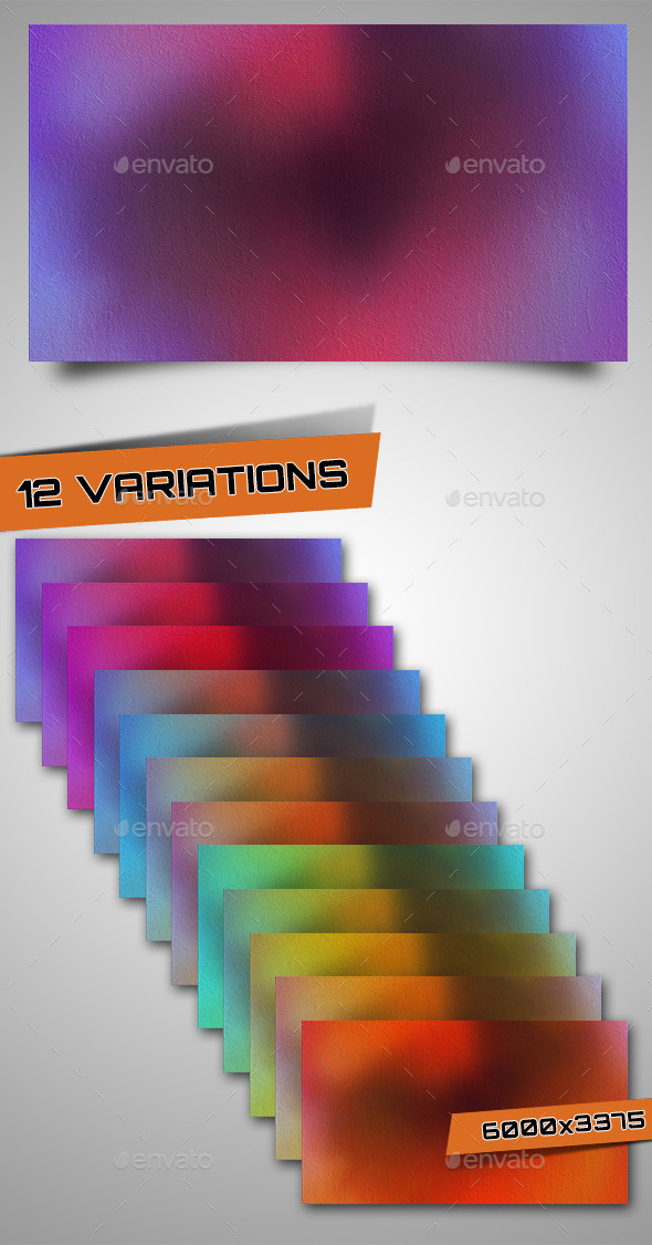 GraphicRiver 12 Color Abstract Backgrounds 9601667