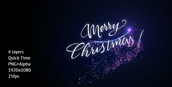 Merry Christmas Greeting Reveal